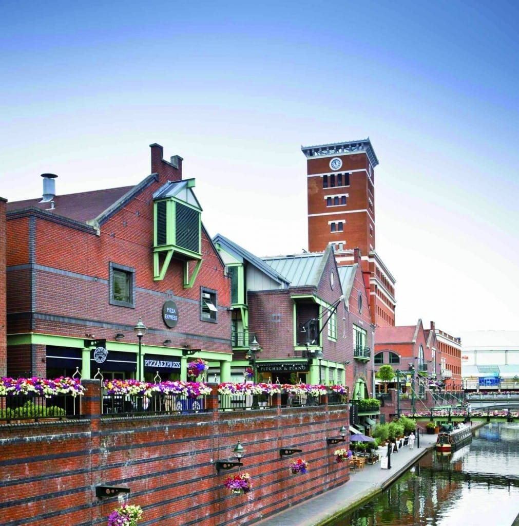 Brindley-Place-Canal-View