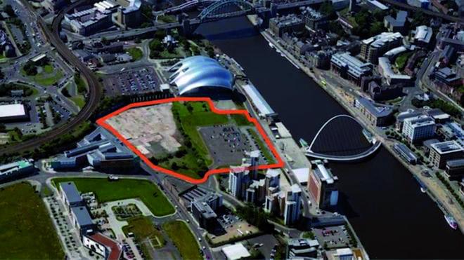 Gateshead Quays site