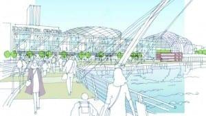 Gateshead quays artist impression