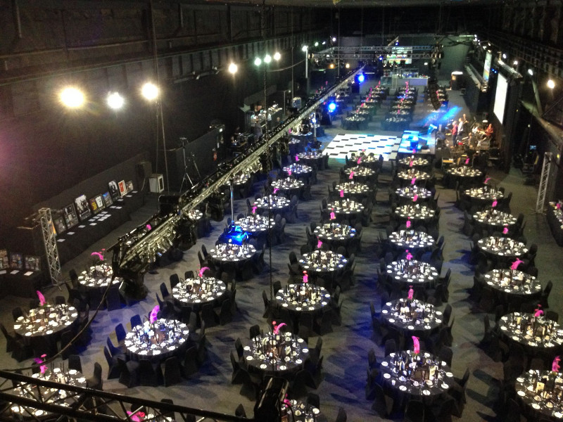 Magna-The-Big-Hall-set-for-Conference-Dinner-and-Exhibition-for-600