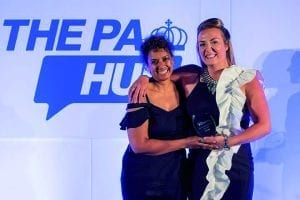 Samantha Toolsie of Toolsie Photography and Emily Newstead at The PA Hub Awards 2018.
