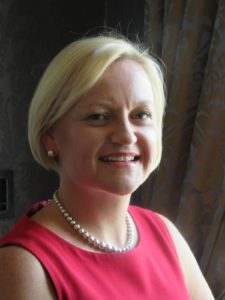 A profile photo fo Claire Stevens, General Manager at luxury venue Oulton Hotel in Leeds