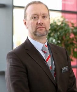 Paul Crooke, Conference, Events and Facilities Manager at GTG, a purpose-built venue